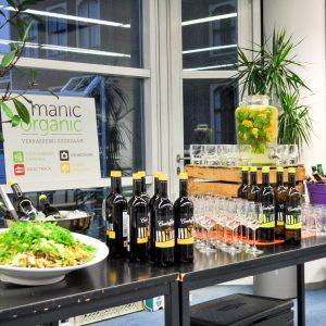 business catering ManicOrganic